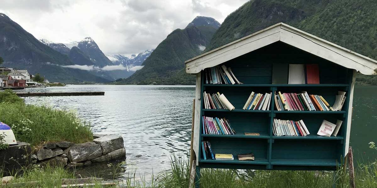 bogbyen fjærland